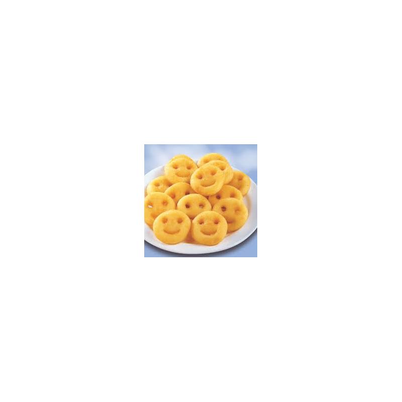 Patates somriures