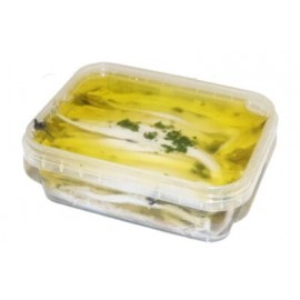Seitons en vinagre amb oli d'oliva