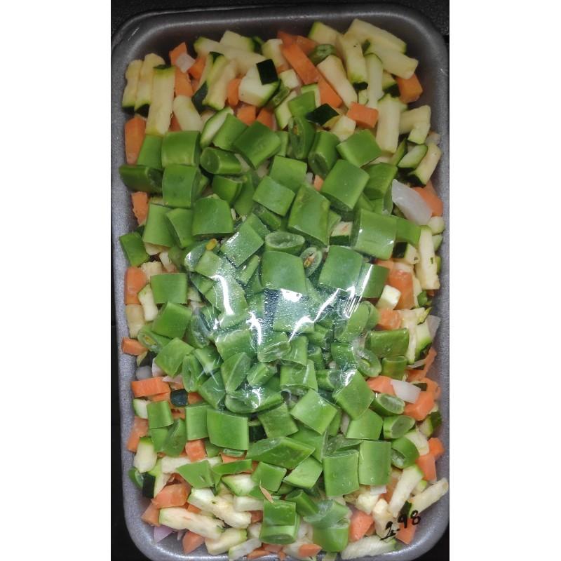 Preparat de verdures tallades