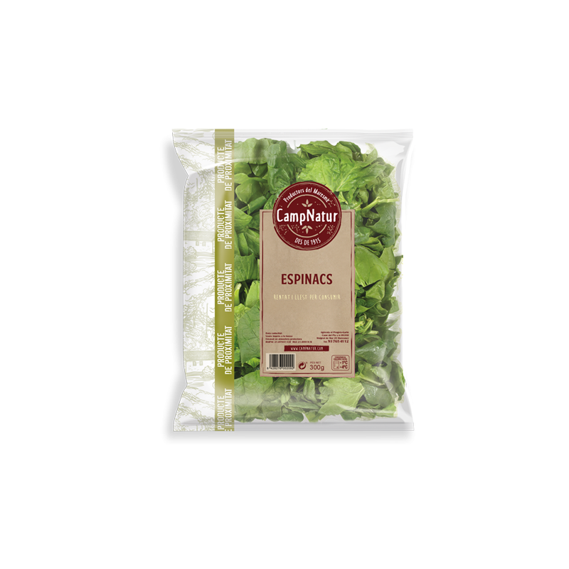 Espinacs bossa