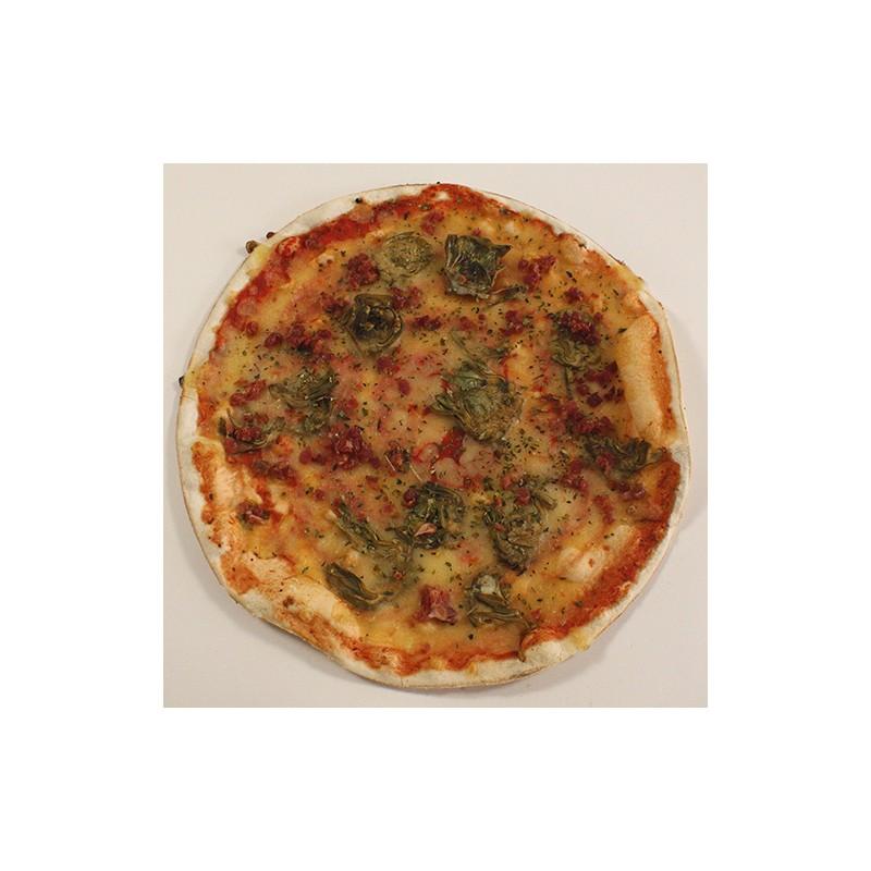 Pizza de Carxofes amb pernil
