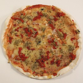 Pizza de escalivada