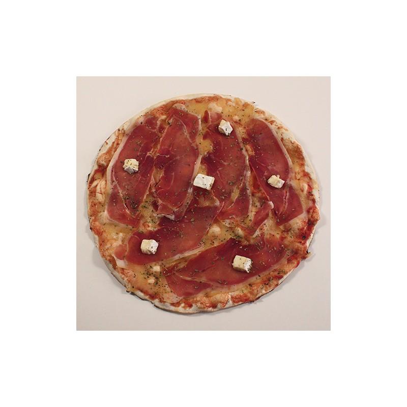 Pizza De jabugo i brie