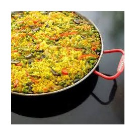 Paella de verdures i costella (250g)